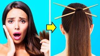 36 SIMPLE BUT VERY USEFUL HAIR HACKS