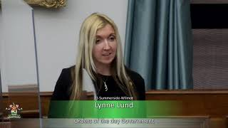 Response to the Speech from the Throne (MLA Lynne Lund)