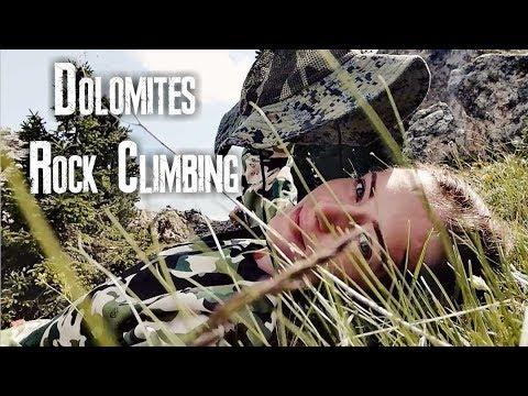 Доломитовые Альпы. Скалолазание. Часть 2. / Dolomites. Part 2