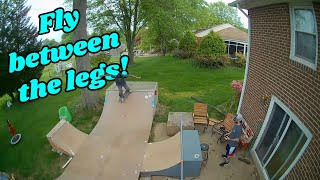 Heads Chases A Skateboard! (Mobula 6 and BetaFPV 65x HD FPV Freestyle)