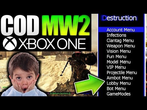MW2 TU8 NEW Mod Menu Smokey xKoVx V1 2 Beta Release! + Download