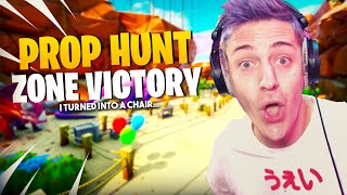 Hilarious Prop Hunt Zone Victory!