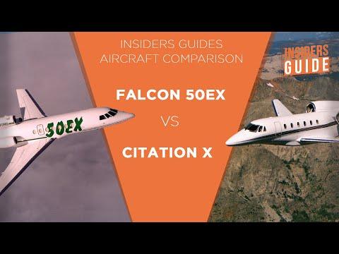 The Insiders Guide Aircraft Comparison Dassault Falcon 50ex Vs Cessna Citation X
