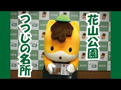 ぐんまちゃんが紹介する「上毛かるた」動画  ~「は」花山公園 つつじの名所~