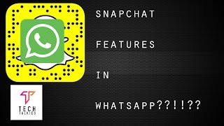 How To Use SNAPCHAT Features in Whatsapp? (Hindi) | BETA
