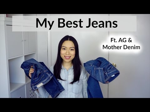 My Best Jeans ft. AG & Mother Denim | English Subs 牛仔裤推荐