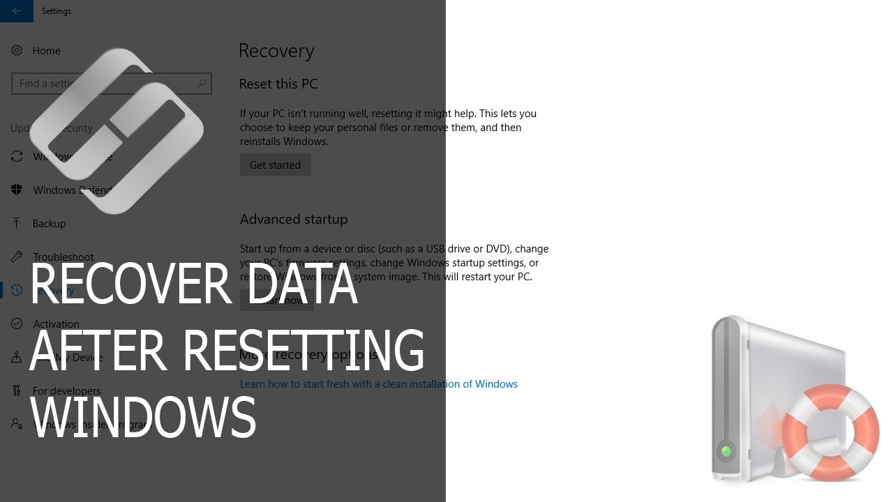 How to Recover Data After Resetting or Reinstalling Windows PC
