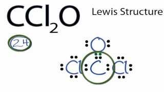 01:18 ccl2o lewis structure: how to draw the lewis structure for ccl2o