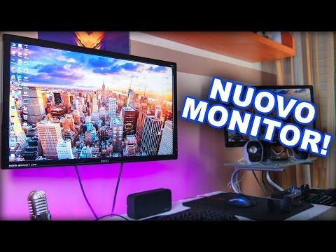 Il mio nuovo MONITOR da Gaming - Editing QHD! | Benq 27