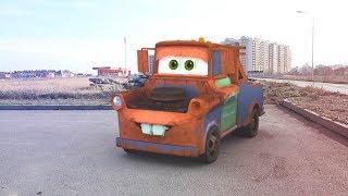 Тачки, Маквин и машинки для детей (17 серия на KidsFM все серии подряд мультики про машинки и машины