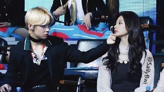 Taehyung & Tzuyu Taetzu Moments compilation-2