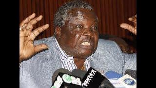 Francis Atwoli chastise Raila and Uhuru; warns of looming civil war