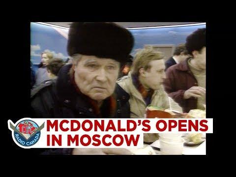 YIL 1990- MOSKOVA'DA İLK MC DONALD'S