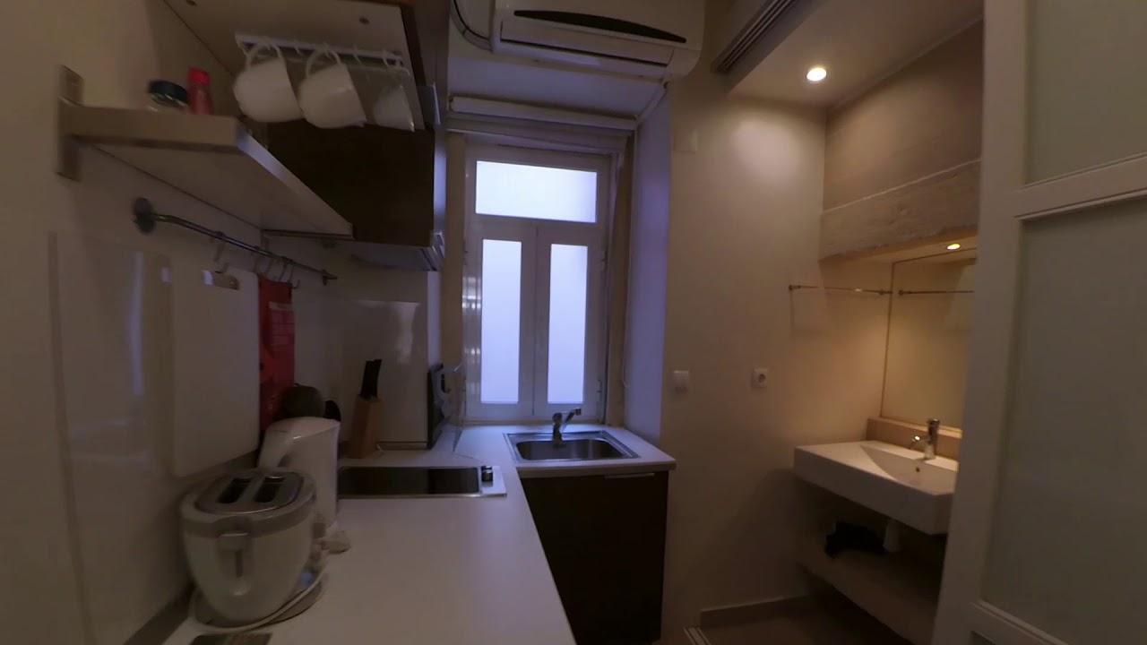 Cozy studio apartment for rent near University of Lisbon in Bairro Alto