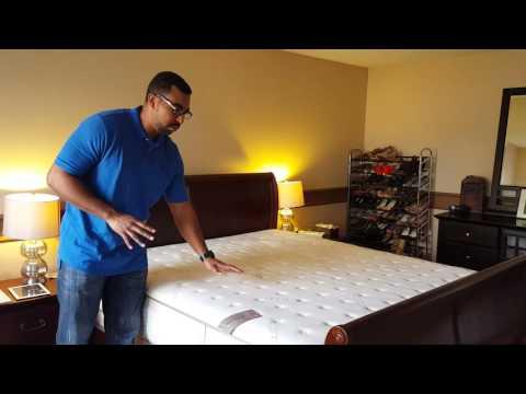 Loom and Leaf firm memory foam mattress.