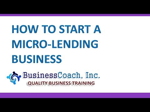 , title : 'How to Start a Micro lending Business