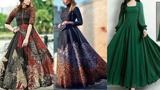 Stunning Long Sleevs Floor Length Maxi Dresses 2019