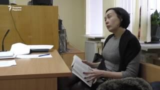 Киев, февраль 2017. Акбарали Абдуллаев в зале суда
