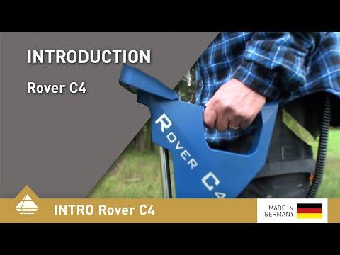 Metalldetektor und 3D-Bodenscanner Rover C4 von OKM [DE]