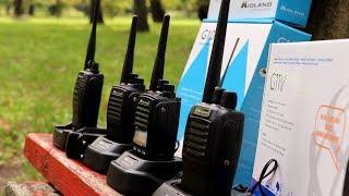 Midland G10, G15, G18, G11V PMR446 rádiók