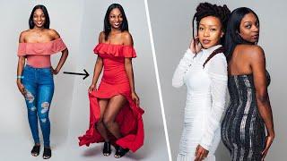 Women Try Fashion Nova Formal Wear