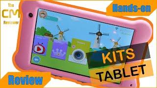 SURFANS K7 Test: Kids Tablet 7'' FHD 2GB 32GB WiFi - Kinder Tablet Android 10 Go - Hand-on (Deutsch)
