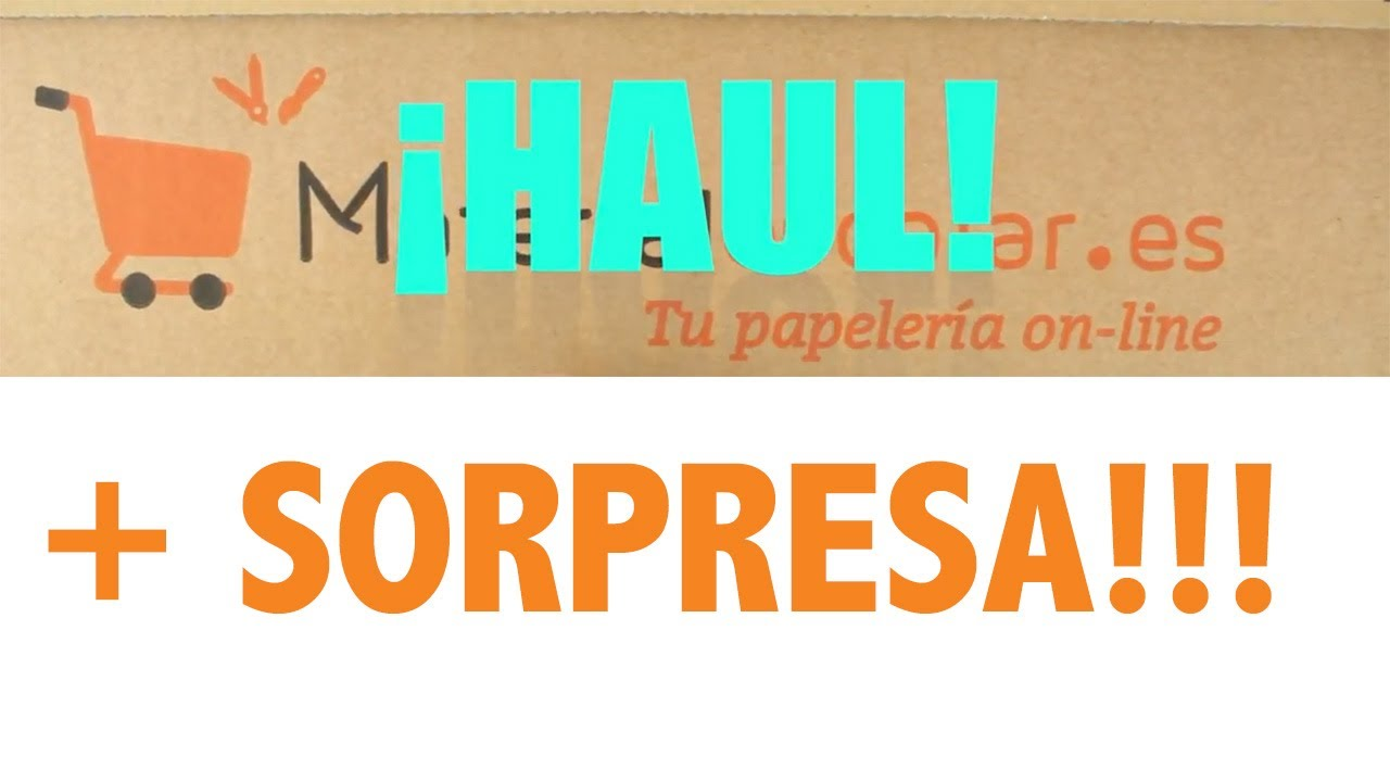 HAUL MATERIAL ESCOLAR + SORPRESA | VUELTA AL COLE | BACK TO SCHOOL
