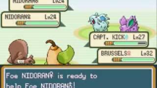 Hitmonlee  - (Pokémon) - Pokemon Leaf Green Walkthrough Part 42: Hitmonlee in Action - Route 12