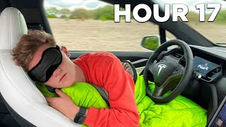 Tesla Autopilot For 24 Hours Straight!