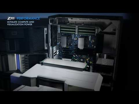 The HP Z800 Workstation at a glance