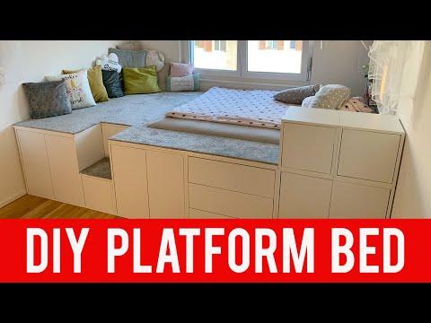 IKEA DIY HACK | Platform Bed