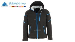 Icepeak, Nils, softshell ski jacket, men, blue