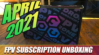 April FPVCRATE | 2021 | Unboxing & Review!