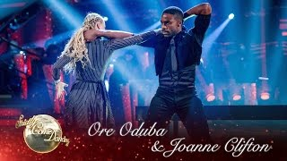 Ore Oduba & Joanne Paso Doble To 'Everybody Wants To Rule The World' By Lorde - Strictly 2016