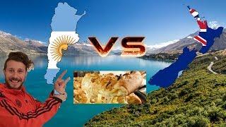 Argentina Vs Nueva Zelanda #5 La Pizza, Comida- viajar-nz- tips