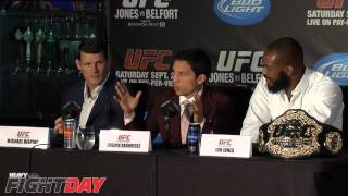 UFC 152 Pre Fight  Press Conference Highlights