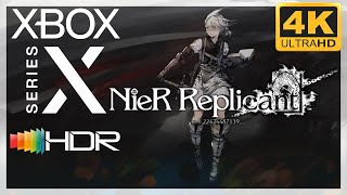 [4K/HDR] NieR Replicant ver. 1.22474487139 / Xbox Series X Gameplay