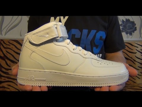 """Видеообзор Nike Air Force 1 Mid '07 """"White"""" от Свистова Арсения"""