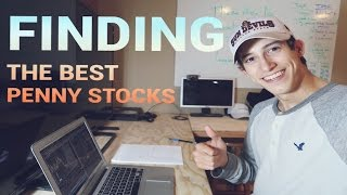 How To Find The Best Penny Stocks | Creating A Criteria List!!