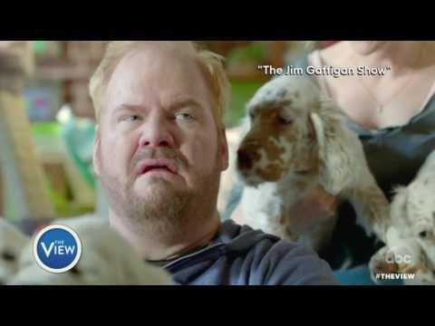 Jim Gaffigan Talks Traveling Abroad With 5 Kids, Political Jokes, & More | The View