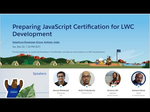 Preparing JavaScript Certification for LWC Development - YouTube