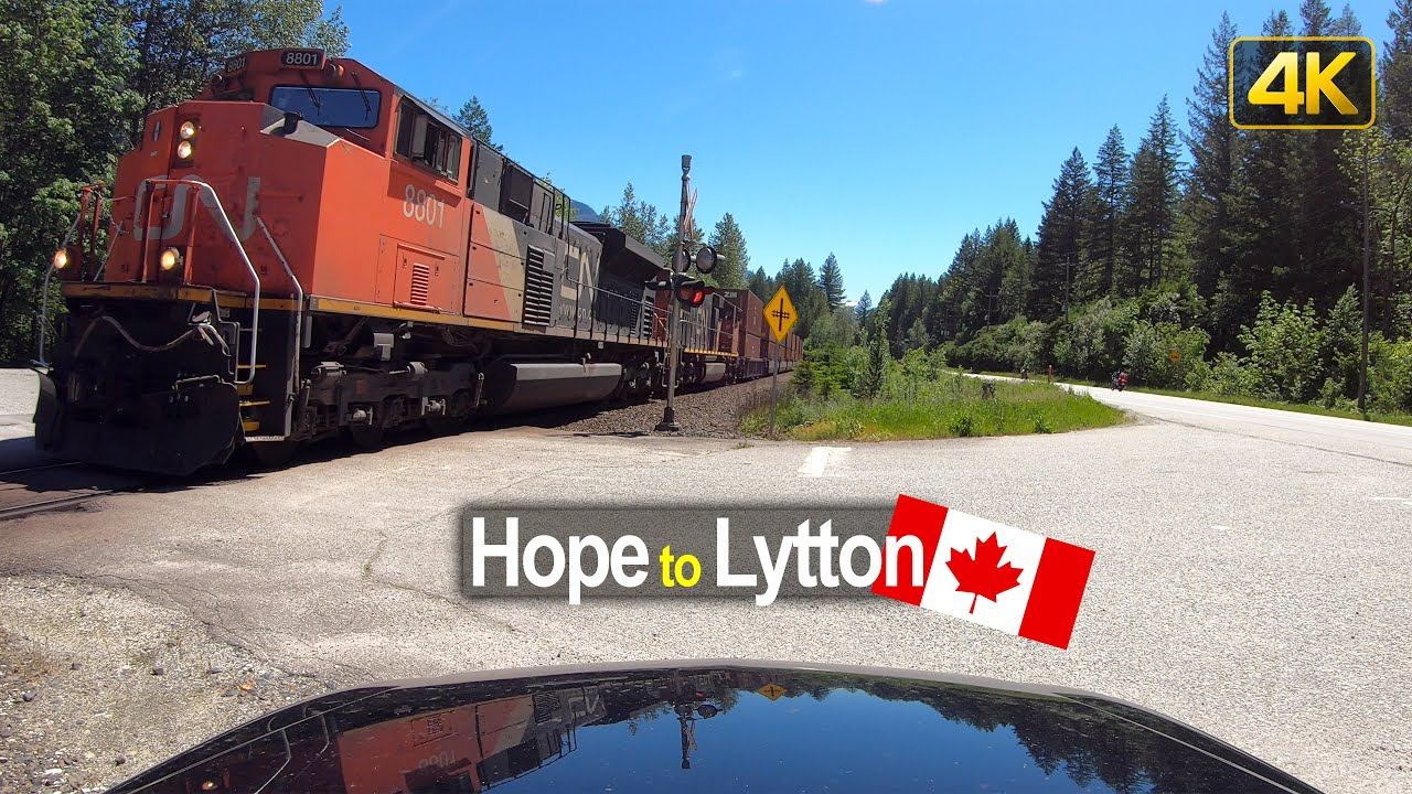Driving from Hope to Lytton | British Columbia Canada