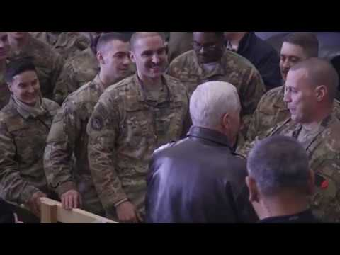 Vice President Pence Visits U.S. Troops in Afghanistan