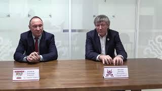 ОЧРК 2019/2020 Пресс-конференция после матчей ХК «Актобе» - ХК «Горняк»