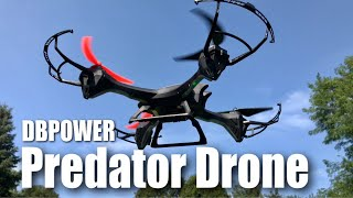 DBPOWER UDI U842 Predator WiFi FPV Drone Review and 4K Camera Hack
