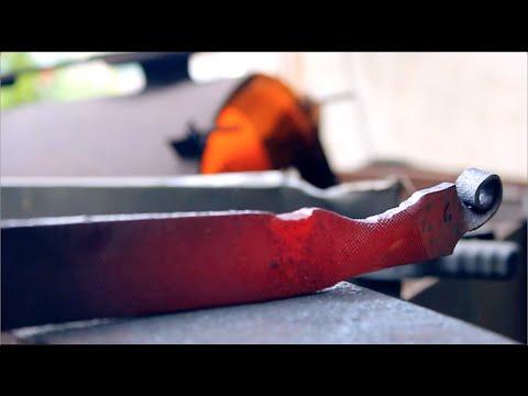 Da una vecchia lima a un bellissimo coltello artigianale