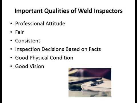 CWI Course Module 1 Part 1 - Weld Inspection