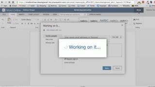 Office 365 - Word Online tutorial