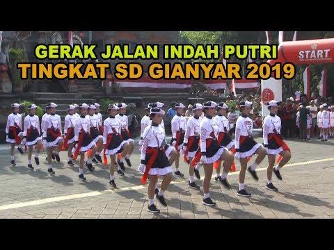 GERAK JALAN INDAH PUTRI TINGKAT SD GIANYAR 13 AGUSTUS 2019 |