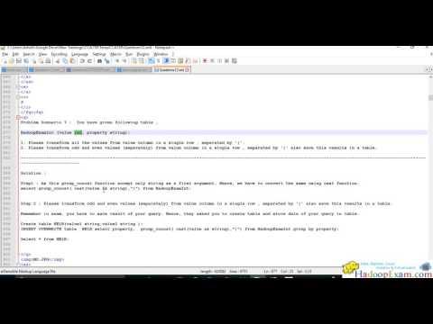 (CCA159 )Problem Scenario 7 : Cloudera Big Data Analyst ...
